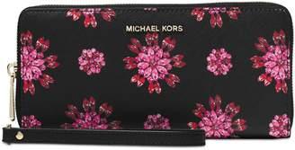 MICHAEL Michael Kors Jet Set Floral Travel Wallet
