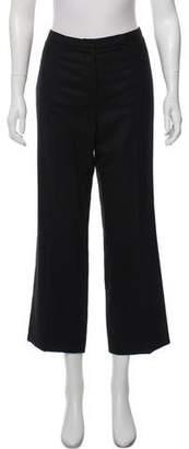 Chanel Mid-Rise Wide-Leg Pants