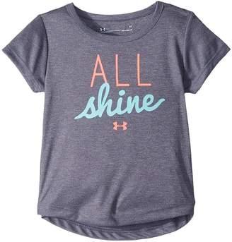 Under Armour Kids All Shine Short Sleeve Tee Girl's T Shirt