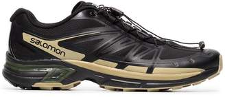 Salomon S/Lab X The Broken Arm black and gold metallic slab wings pro sneakers