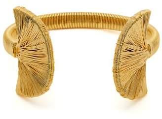 Joelle Gagnard Kharrat - Peacock Gold Plated Bracelet - Womens - Gold