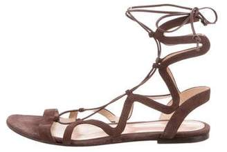 Gianvito Rossi Lace-Up Gladiator Sandals