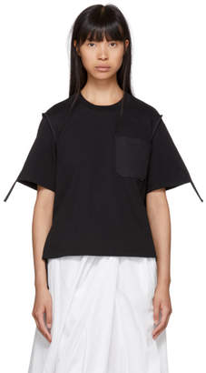 3.1 Phillip Lim Black Patch Pocket T-Shirt