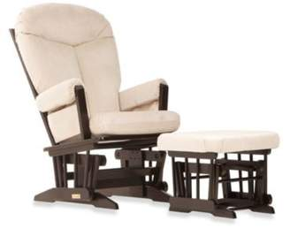 Dutailier® Ultramotion Bella Classic Glider and Ottoman in Buckwheat $399.99 thestylecure.com