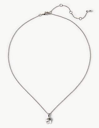 M&S Collection Flower Necklace with Swarovski® Crystals