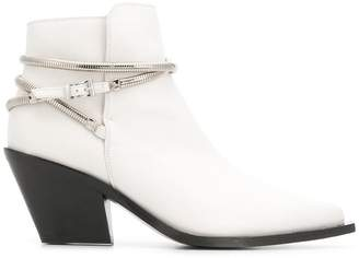 Barbara Bui pointed toe ankle boots