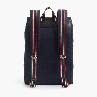 J.Crew Oar Stripe nylon backpack