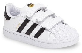 Infant Boy's Adidas Superstar Foundation Sneaker $45 thestylecure.com