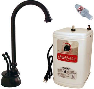 Westbrass D262H Docalorah 2-Handle Hot Water Dispenser Faucet with Hot Water Tank