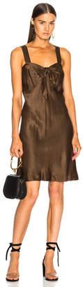 Raquel Allegra Tie Front Dress