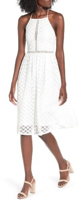 Women's Soprano Lace Midi Dress $55 thestylecure.com