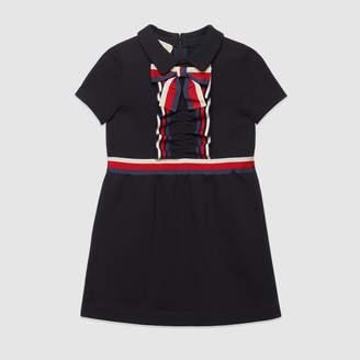 Gucci Children's cotton dress with Web