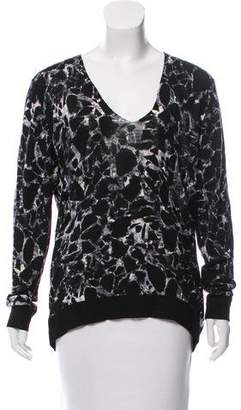 Balenciaga Virgin Wool Printed Sweater w/ Tags