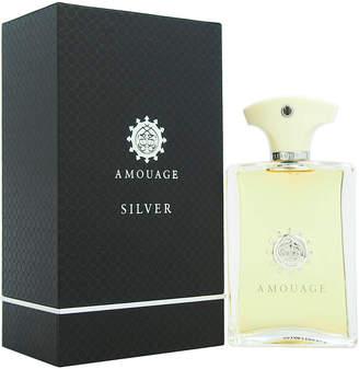 Amouage Men's 3.4Oz Silver Eau De Parfum Spray