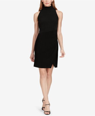 American Living Jersey Mock Neck Dress $79 thestylecure.com