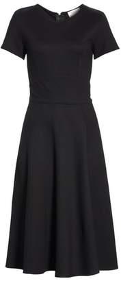 BA&SH Maisy Fit & Flare Dress