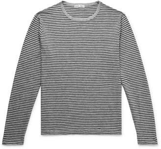 Alex Mill Striped Slub Cotton-Jersey T-Shirt