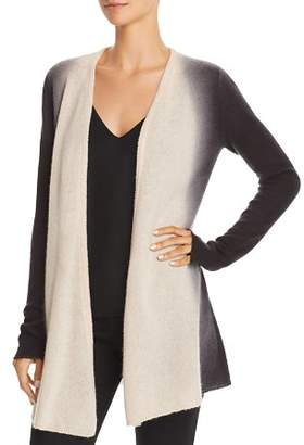 Bloomingdale's C by Dip-Dye Lightweight Cashmere Cardigan - 100% Exclusive