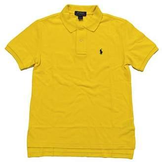 Polo Ralph Lauren Boys Mesh Polo Shirt (Medium (10-12), )