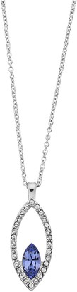 Brilliance+ Brilliance Marquise Pendant Necklace with Swarovski Crystal