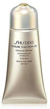 Shiseido Future Solution LX Universal Defense Sunscreen Broad Spectrum SPF 50+
