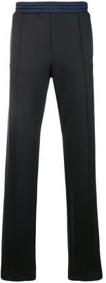 Valentino contrasting waistband track pants