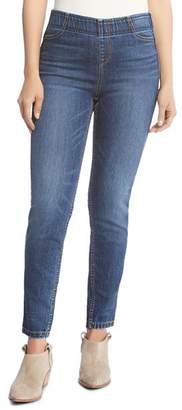 Karen Kane Terra Pull-On Skinny Jeans in Vintage Wash