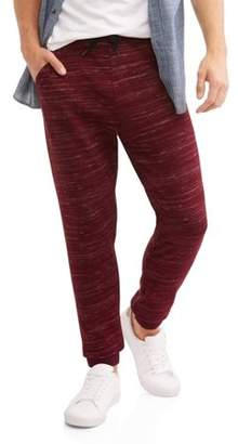 George Men's Marled Knit Jogger Pants