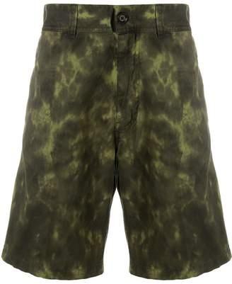Diesel tie-dye cargo shorts