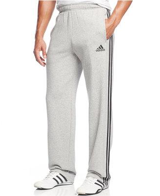 adidas Men's Essentials Fleece Pants $45 thestylecure.com