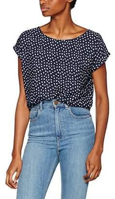 Dotti Blend Women's R top Blouse, Blue (Peacoat 240), (Size: M)