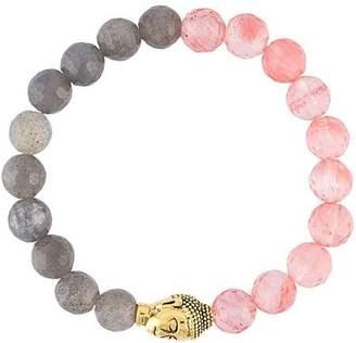 Nialaya Jewelry beaded Buddha bracelet