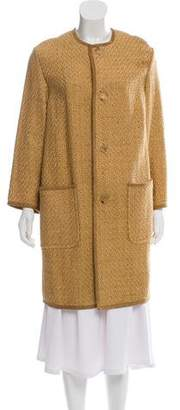 Ralph Lauren Textured Knee-Length Coat