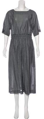 Apiece Apart Short Sleeve Maxi Dress