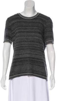Chanel Cashmere-Blend Knit Top