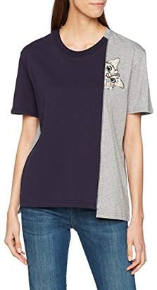 Paul & Joe Sister Women's 7lefilou T-Shirt,8 (Manufacturer Size: 0)