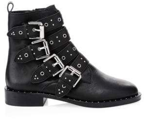 Rebecca Minkoff Seren Leather Moto Booties