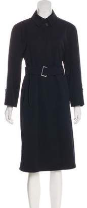 Calvin Klein Collection Wool Long Coat