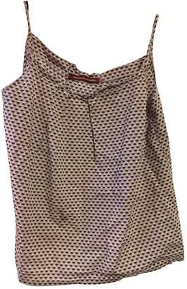 Comptoir des Cotonniers Purple Cotton Top for Women