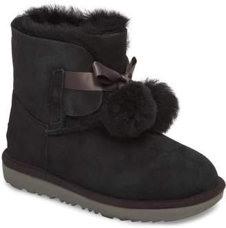 UGG Gita Water-Resistant Genuine Shearling Pom Boot