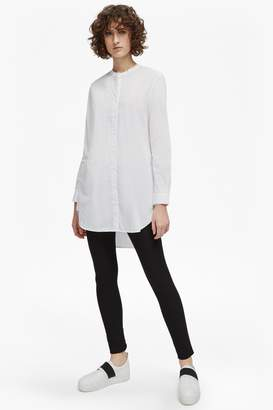 French Connection Southside Cotton Tunic Shirt