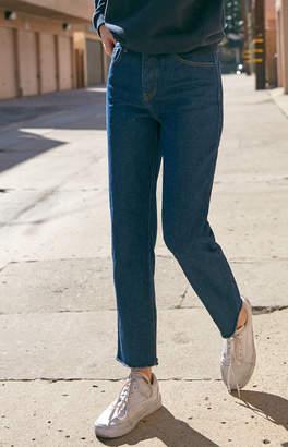 adidas John Galt Dark Wash High Rise Jeans