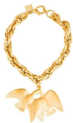 Nina Ricci Bird Charm Bracelet