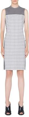 Akris Punto Grid Sheath Dress