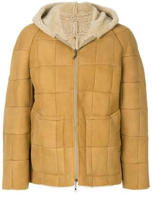 Maison Margiela hooded padded jacket