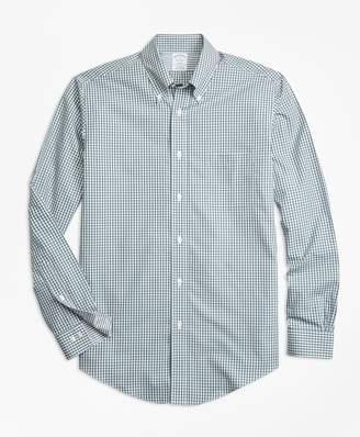 Brooks Brothers Non-Iron Regent Fit Mini-Gingham Sport Shirt