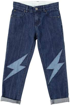 Stella McCartney Lightning Patches Stretch Denim Jeans