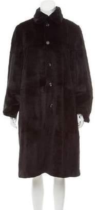 Cassin Reversible Sheared Mink Coat