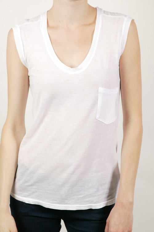 291 Muscle Tee - White