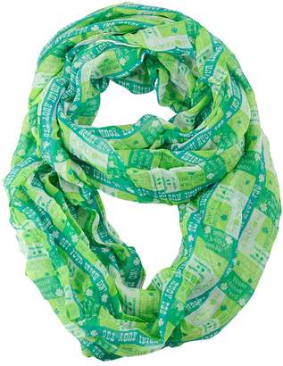 D&Y Holiday St. Patrick's Day Mixed Silhouette Pack Scarf